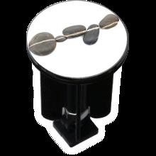 Bouchon bonde lavabo motif design cailloux
