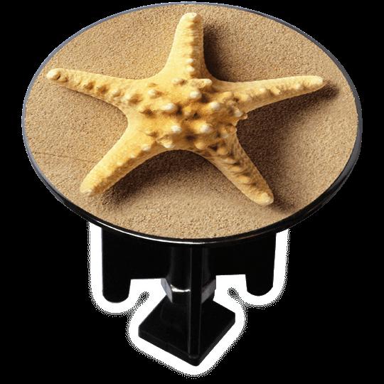 Decorated Extra-Large Sink Plug Design 'Starfish'