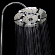 Expandable shower head model Star