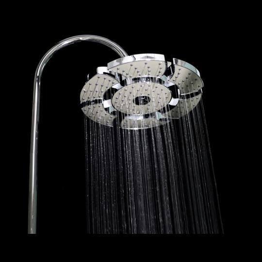 Expandable shower head model Star