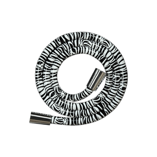 Flexible de douche décoré motif Zebra