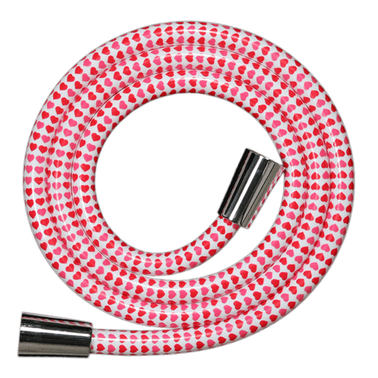 Decorated Shower Hose Design GIRLY